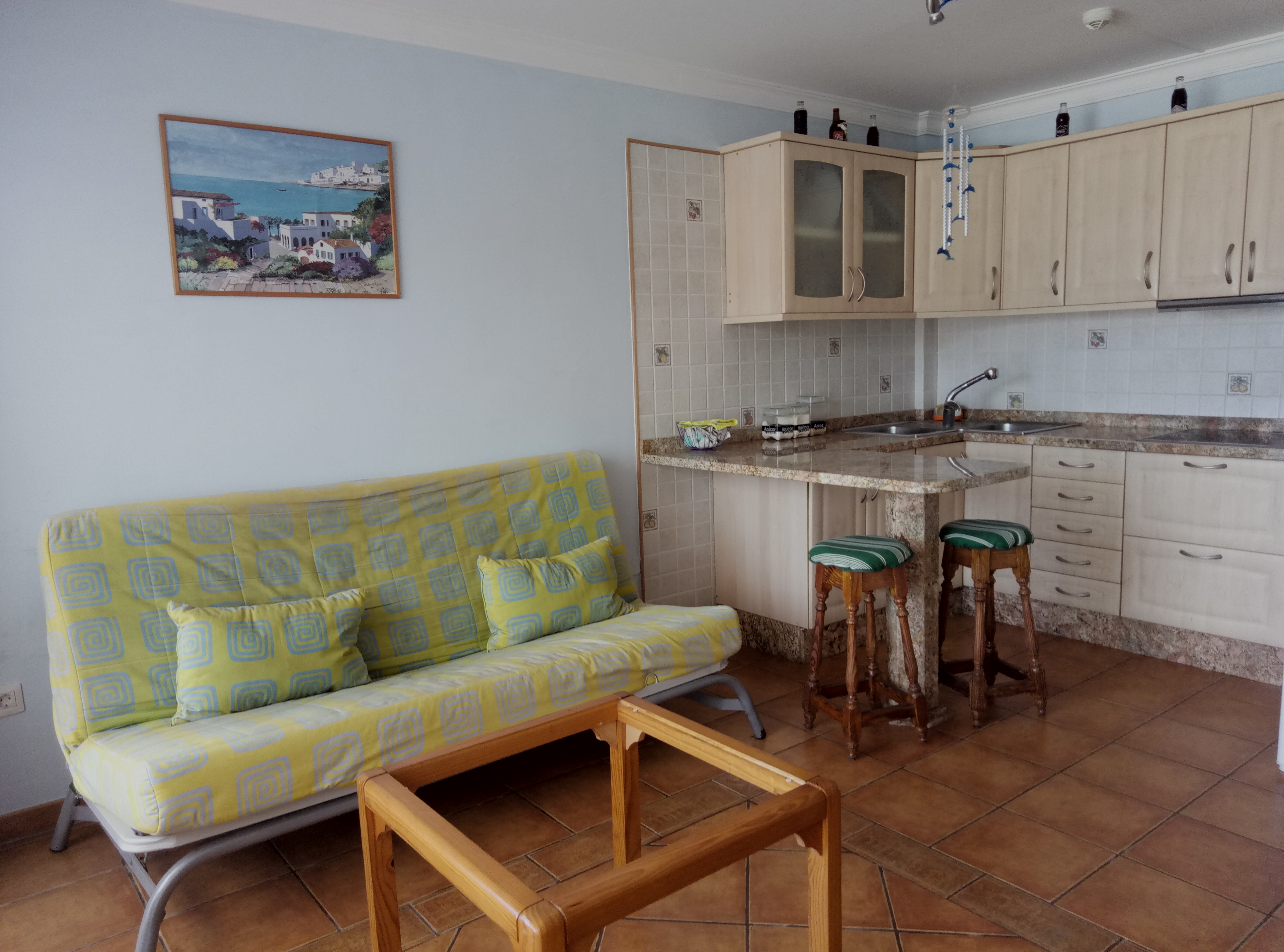 1 Sovrums Lägenhet i Playa del Cura