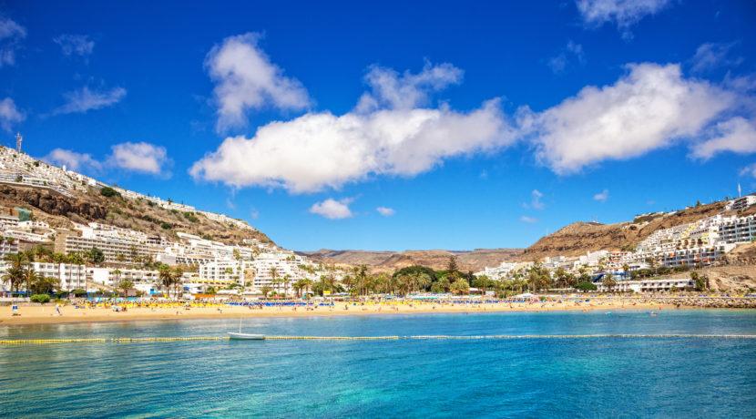 Summer in Puerto Rico, Gran Canaria (Spain)