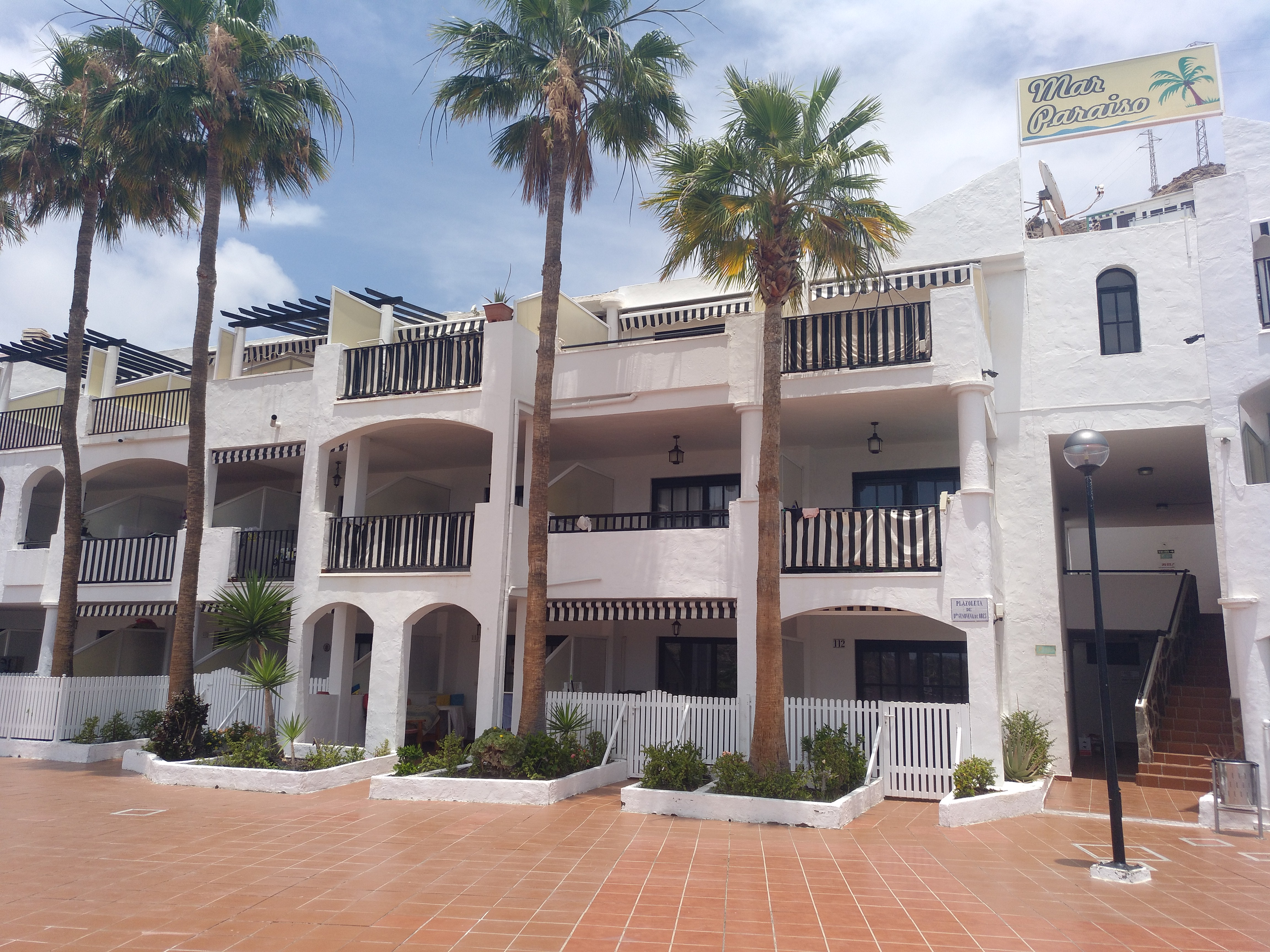 1 Bedroom Apartment with Sea Views & All Day Sun in Mar Paraiso – Playa del Cura
