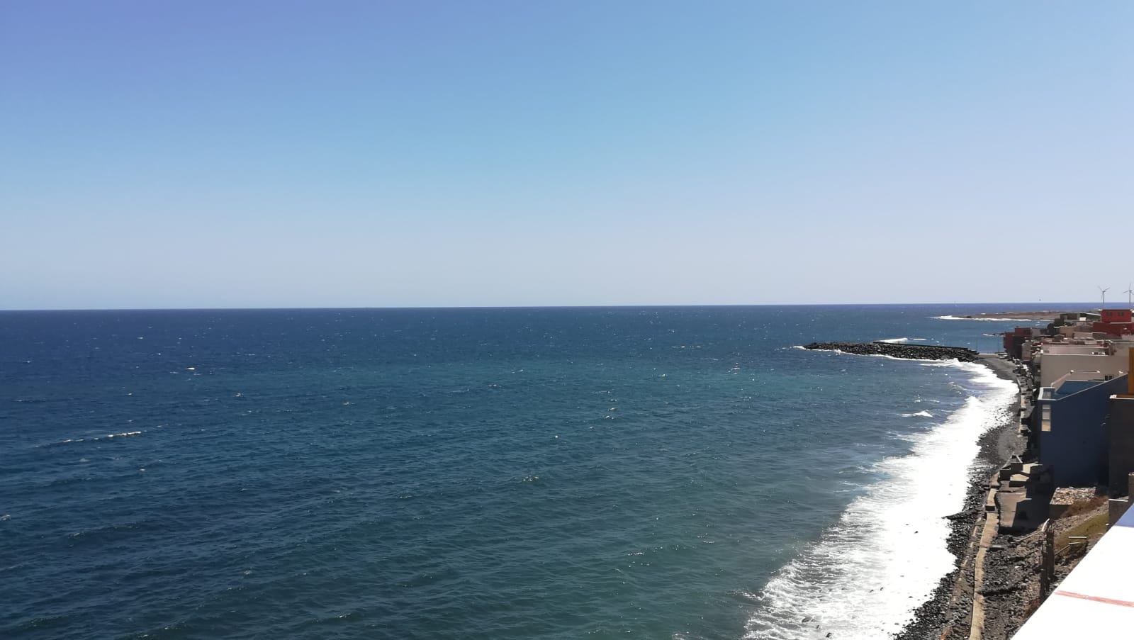 Front Line Beach Apartment with 2 Bedrooms with Awesome Entertainment Terrace with Unspoiled Sea Views- Pozo Izquierdo